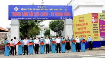 SAIGONTEL PARTICIPATES IN OPENING COVID-19 INTENSIVE CARE UNIT IN LONG AN